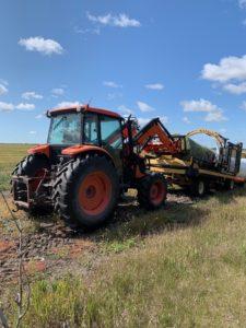 The Lundar Ag Society First Annual field harvest fundraiser